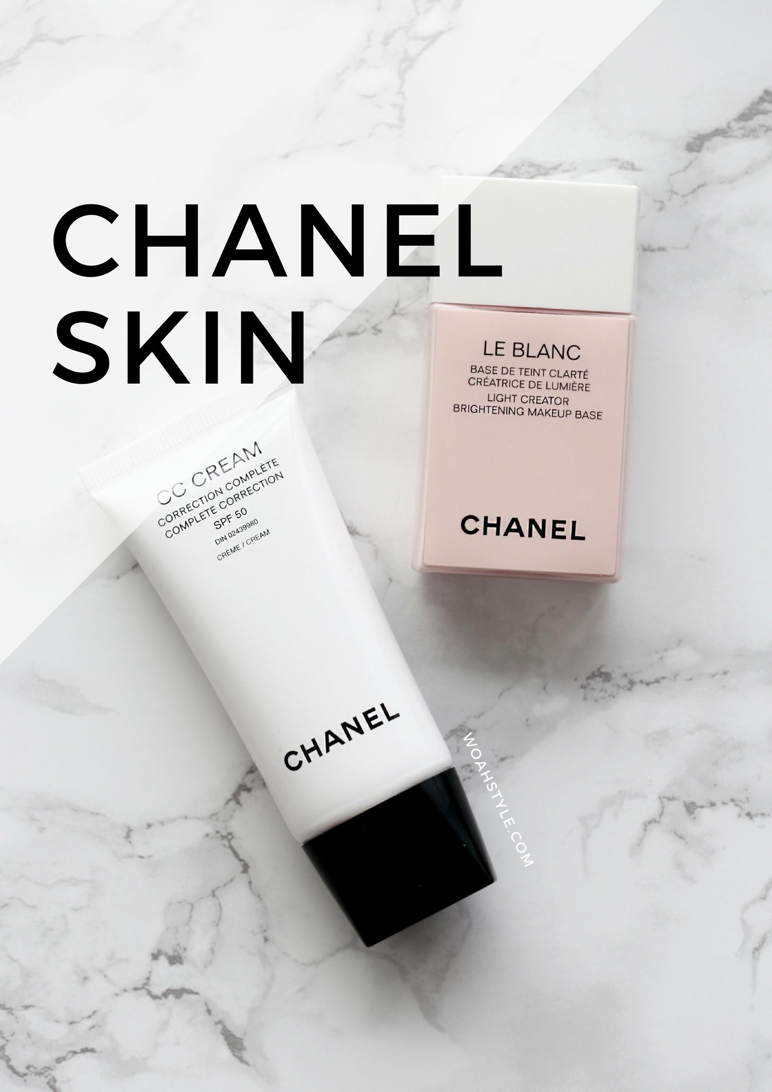 Chanel CC Cream + Le Blanc Makeup Base review