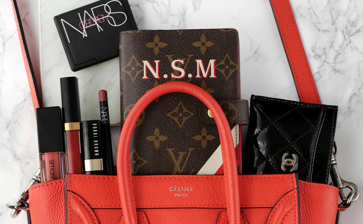 What's in my Celine Nano Luggage Bag top.jpg