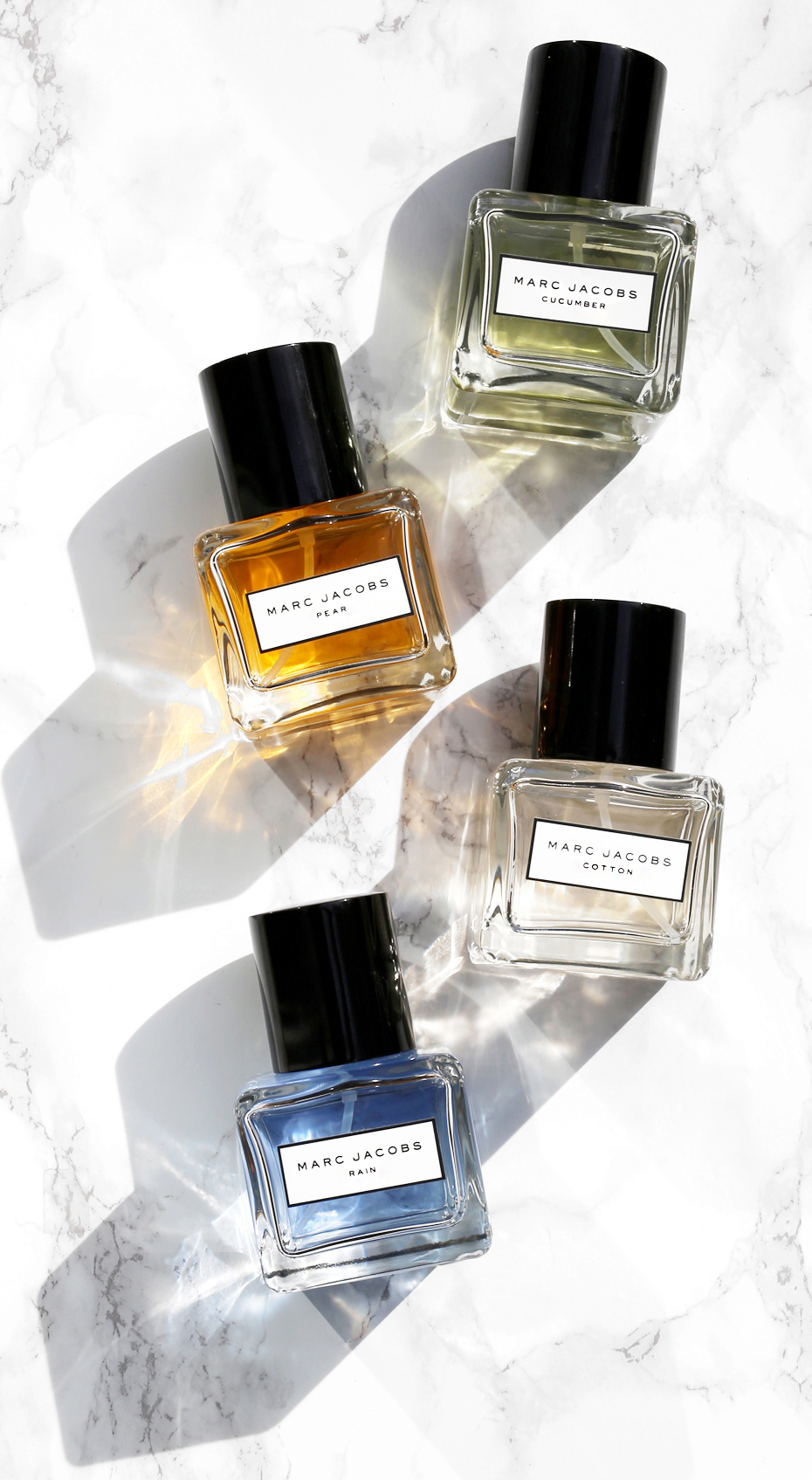Marc Jacobs Pear, Cucumber, Rain and Cotton perfume collection_1806.JPG