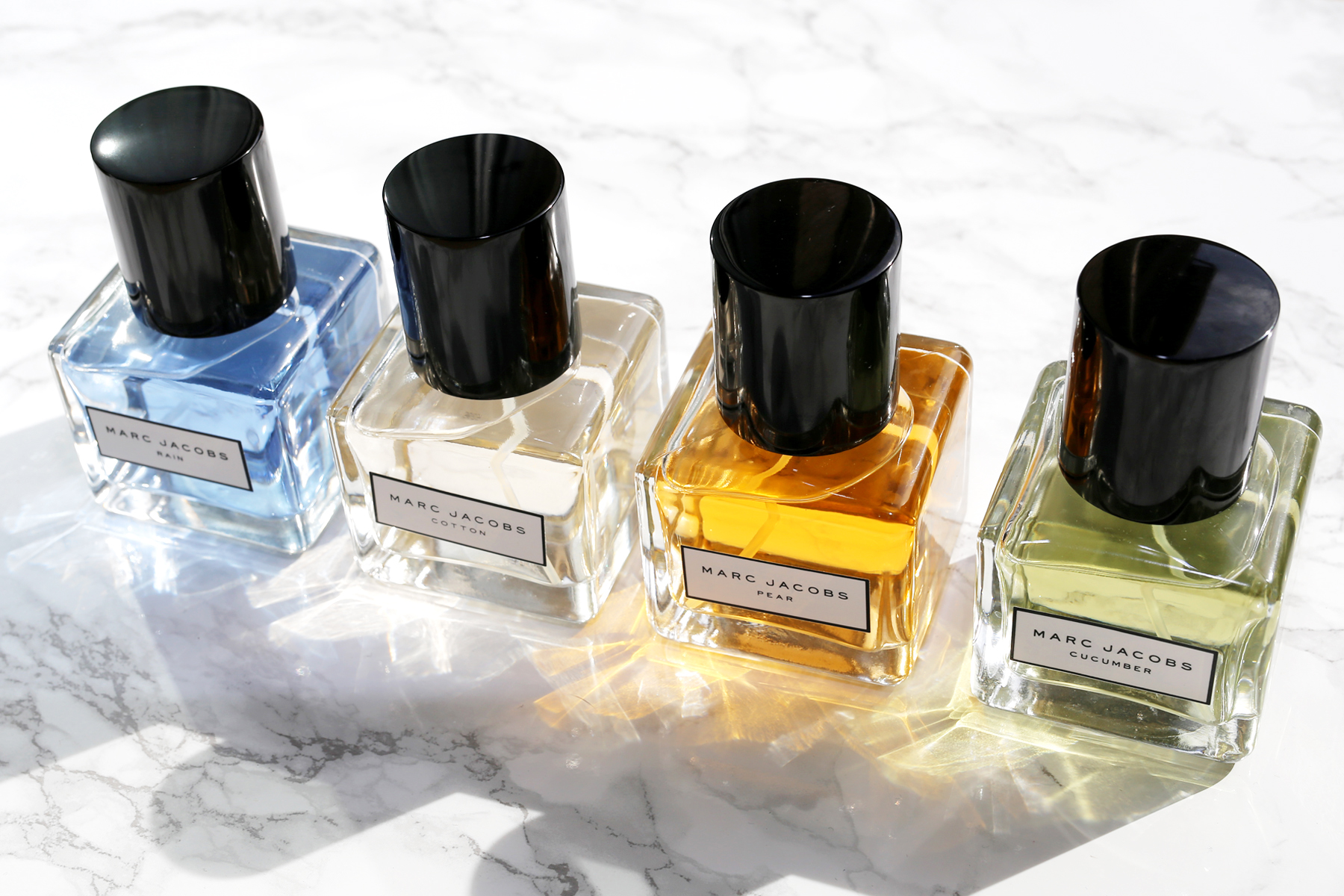 Marc Jacobs Pear, Cucumber, Rain and Cotton perfume collection_1830.JPG