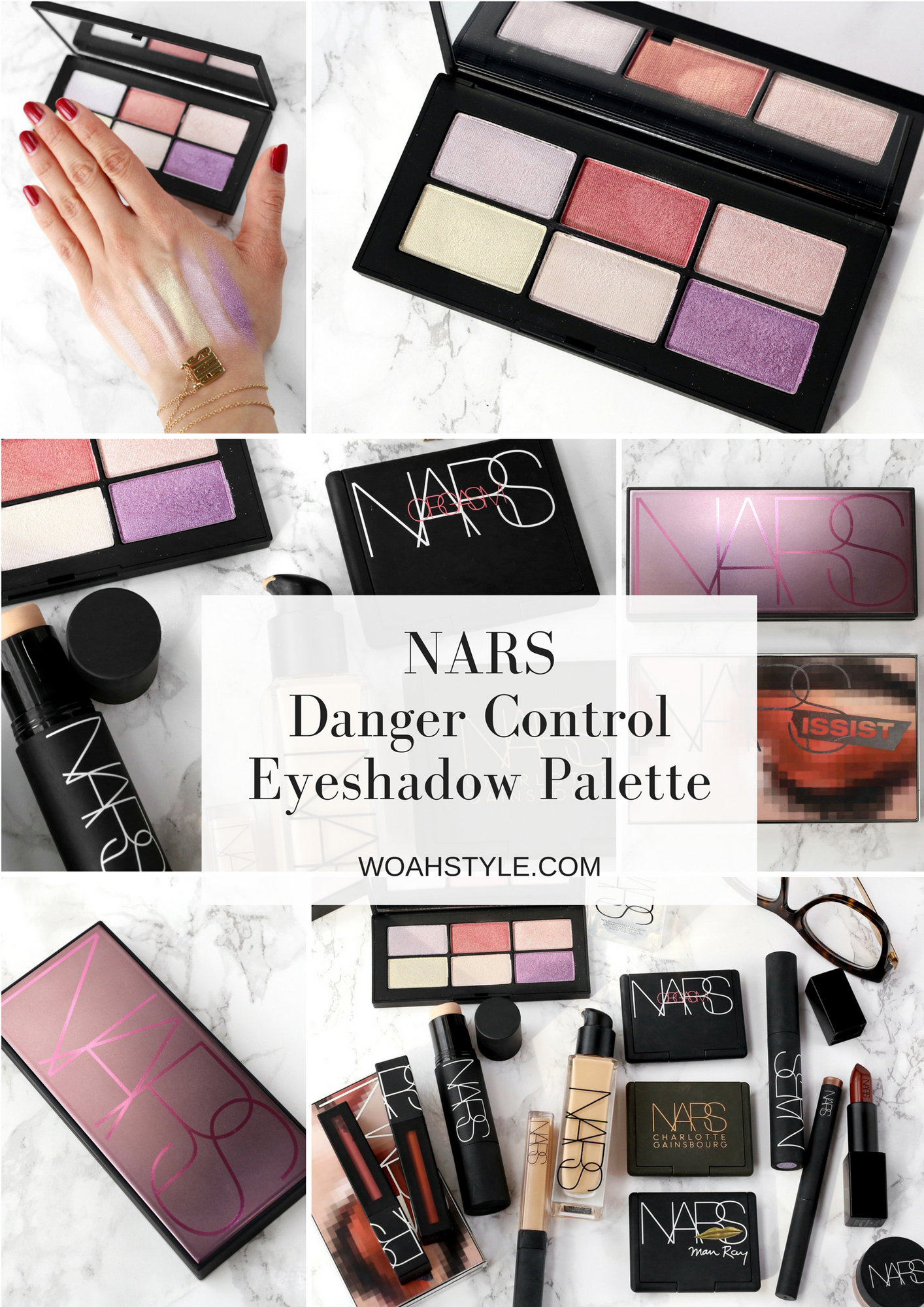 NARS Danger Control Eyeshadow Palette - review and swatches - Sephora Exclusive - woahstyle.com - toronto beauty blog - nathalie martin 2.jpg