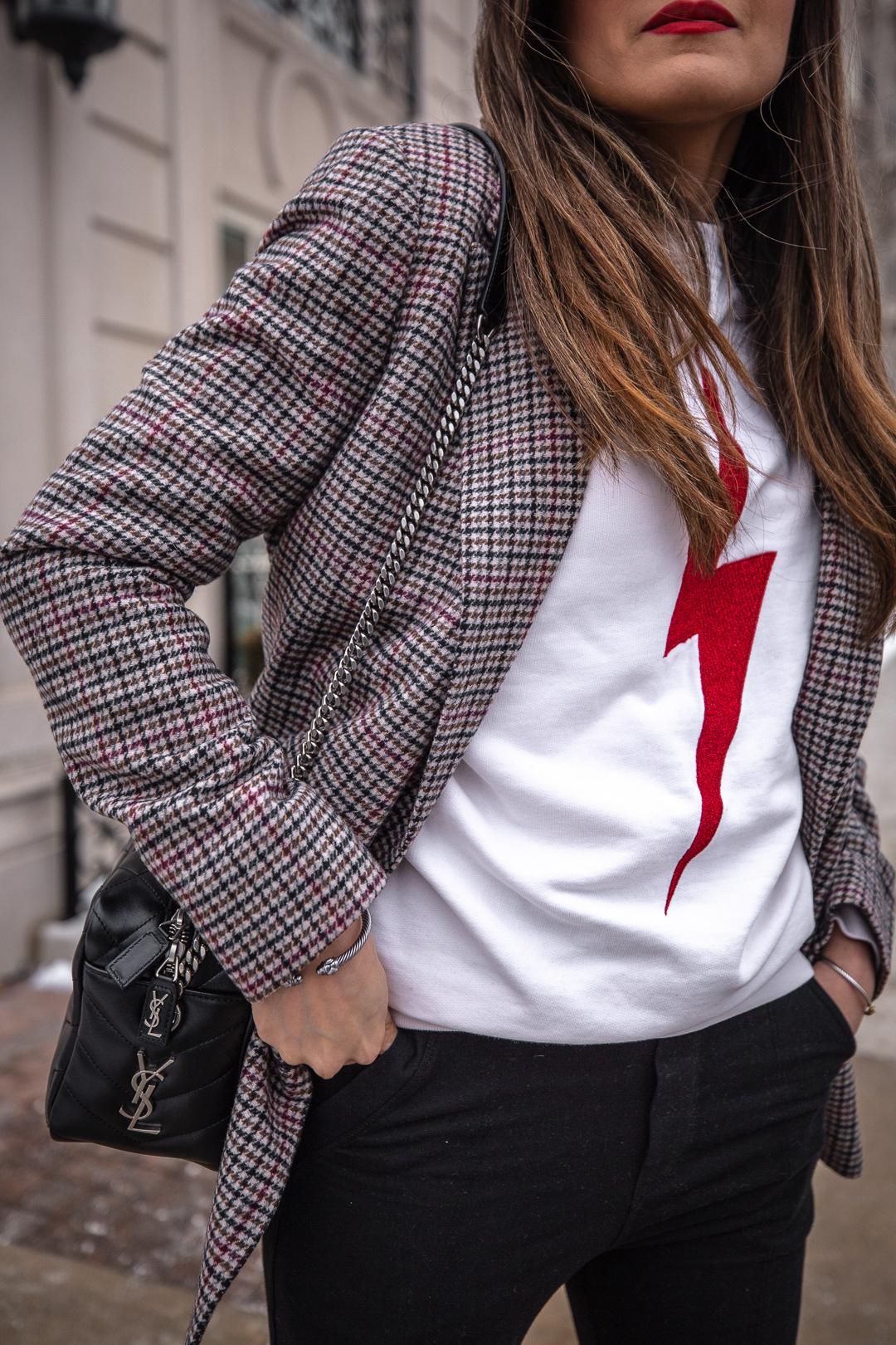 nathalie martin - anine bing lightning bold sweater, alexander wang lyndon boots, bonlook jerry glasses, plaid blazer, frank and eileen joggers, street style, pinterest @woahstyle_7099.jpg