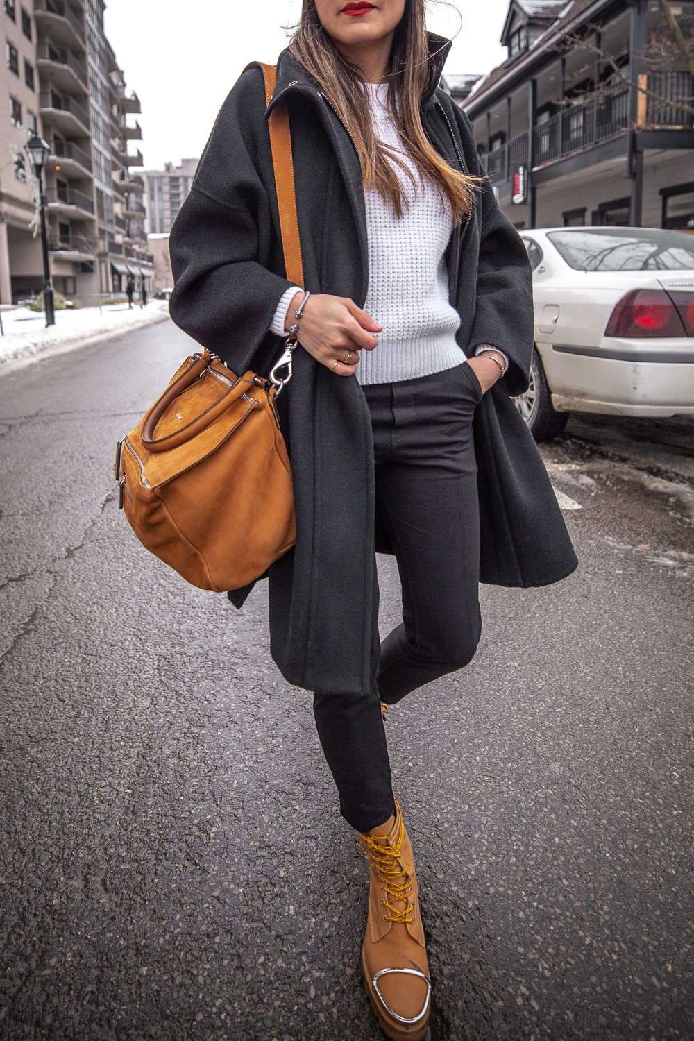 nathalie martin - vince wool coat, acne studios white sweater, pansy beanie, frank and eileen trouser joggers, alexander wang lyndon boots, givenchy medium pandora, bonlook jerry glasses, pinterest @woahstyle_7277.jpg