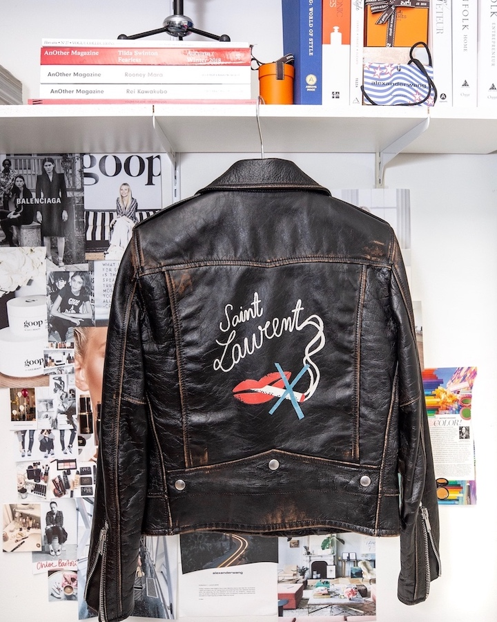 nathalie martin - saint laurent paris no smoking leather moto jacket - woahstyle.com.jpg