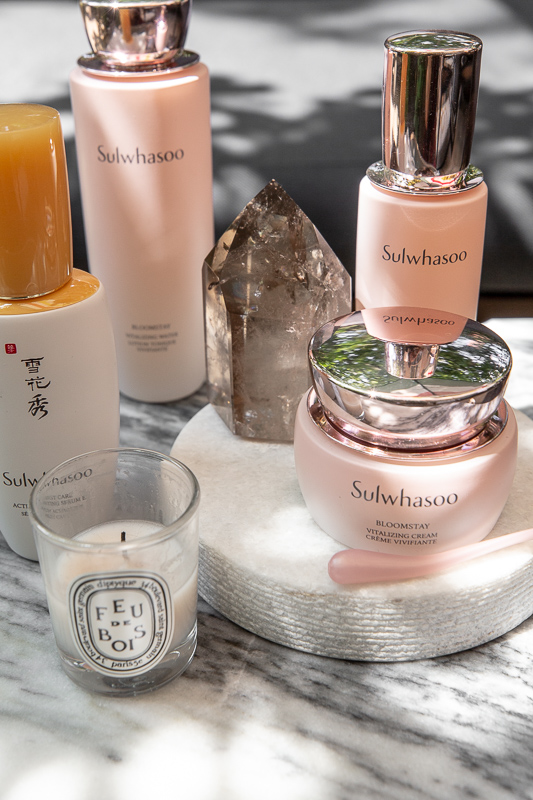 sulwhasoo bloomstay vitalizing cream, water, serum, first care activating serum, skincare review, korean beauty products, woahstyle.com _0967.jpg
