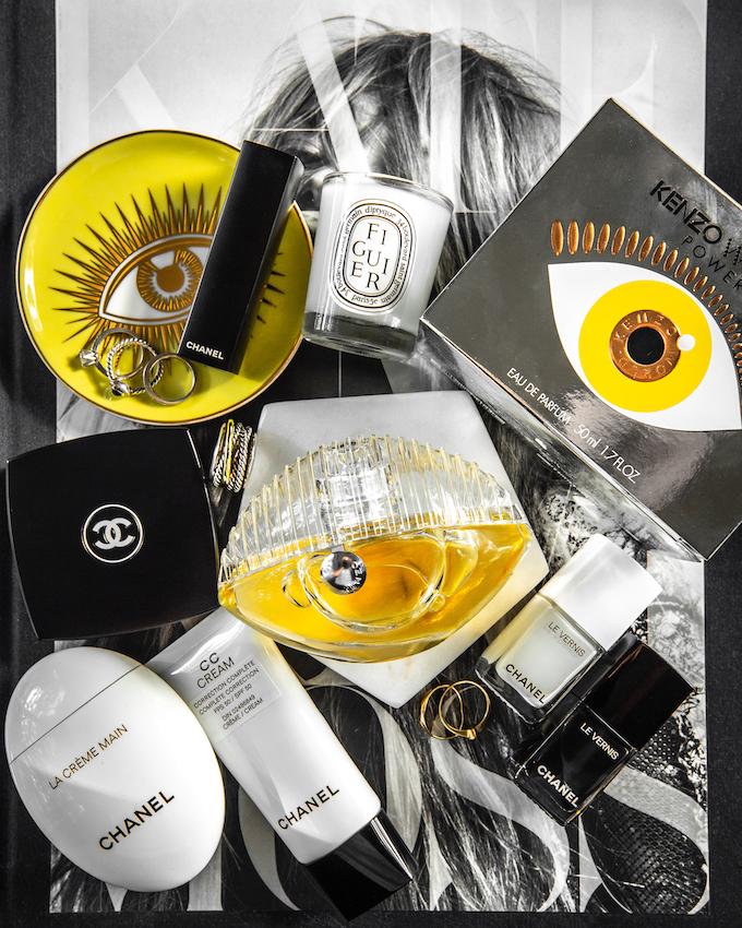 @_NathalieMartin, Kenzo World Power Eau de Parfum review, Jonathan Adler Le Wink coasters, Kate Moss book, Chanel CC Cream 30 beige, La Creme Main, Le Vernis Pure Black and White nail polish, woahstyle.com beauty blog_3125.jpg