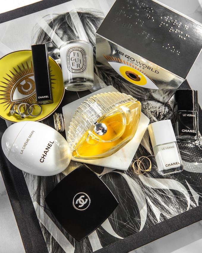 @_NathalieMartin, Kenzo World Power Eau de Parfum review, Jonathan Adler Le Wink coasters, Kate Moss book, Chanel CC Cream 30 beige, La Creme Main, Le Vernis Pure Black and White nail polish, woahstyle.com beauty blog_3133.jpg