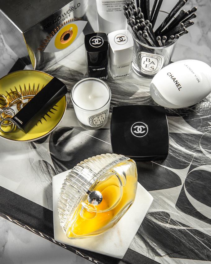 @_NathalieMartin, Kenzo World Power Eau de Parfum review, Jonathan Adler Le Wink coasters, Kate Moss book, Chanel CC Cream 30 beige, La Creme Main, Le Vernis Pure Black and White nail polish, woahstyle.com beauty blog_3145.jpg