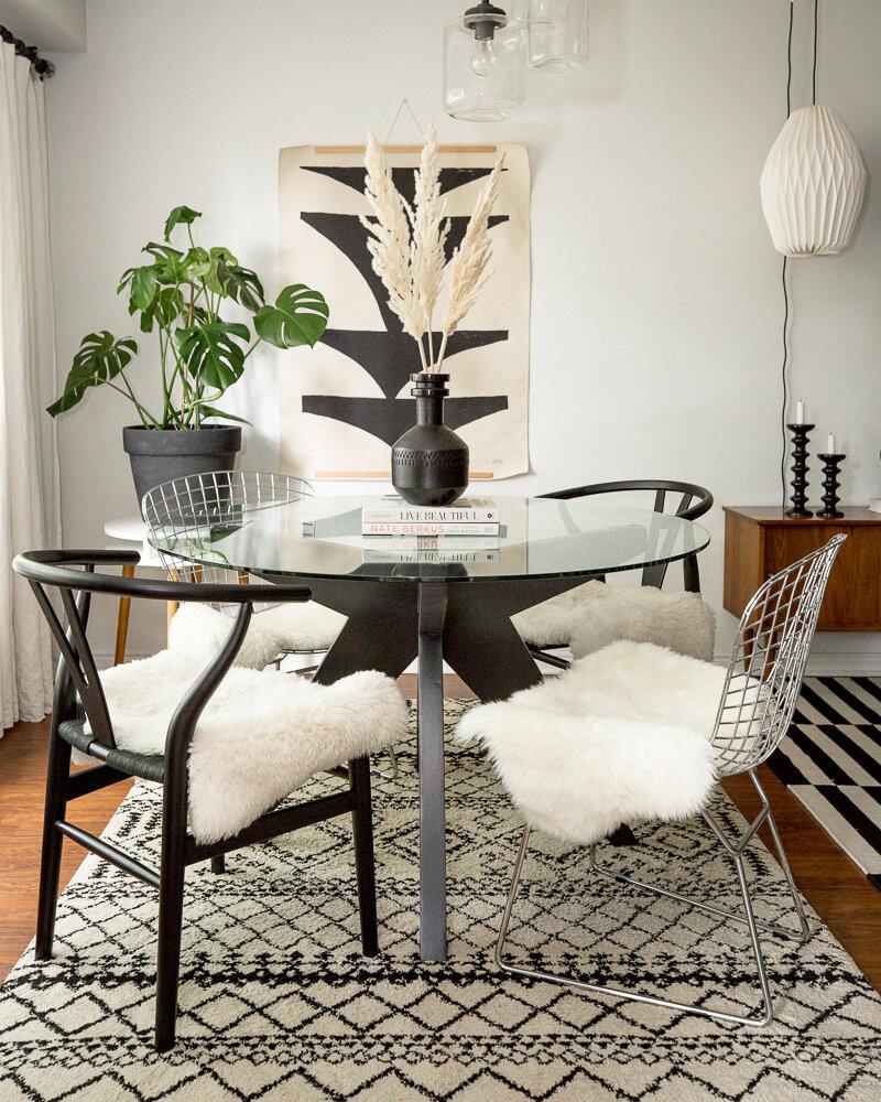 Mid Century Modern Style Dining Room, Mid Century Modern Dining Room Table