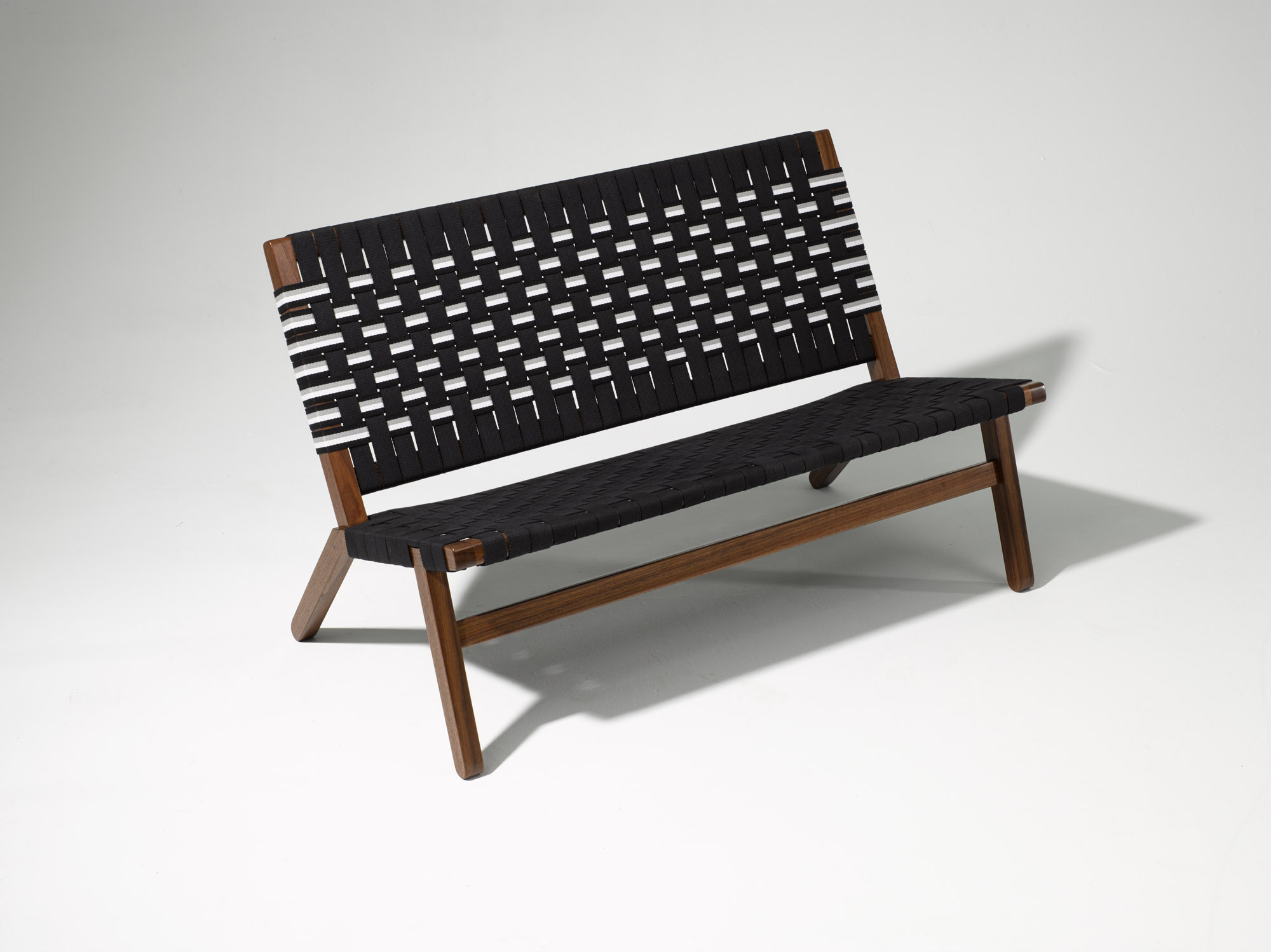 Black Bench Furniture Photography