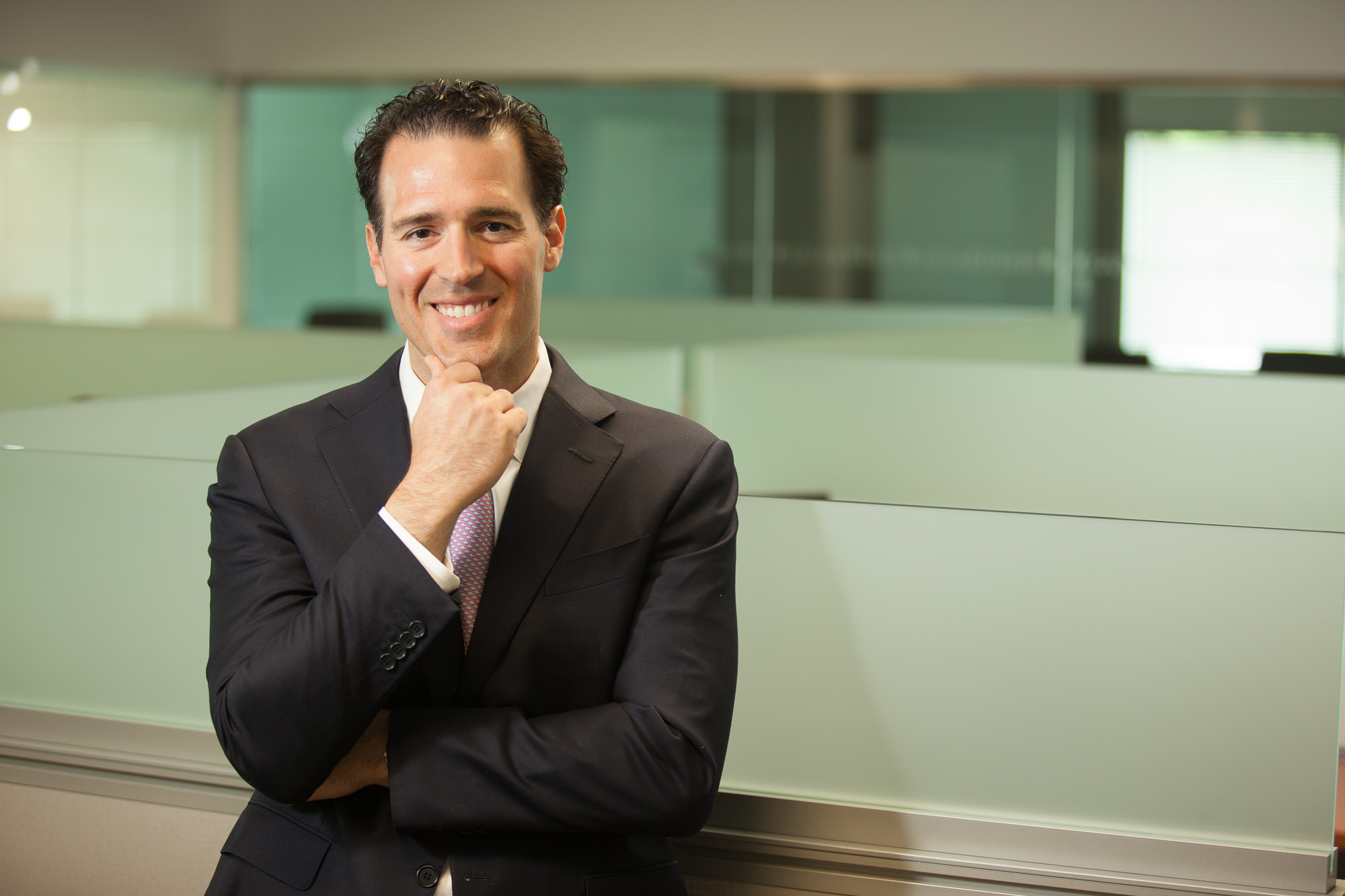 Smiling Corporate Headshot