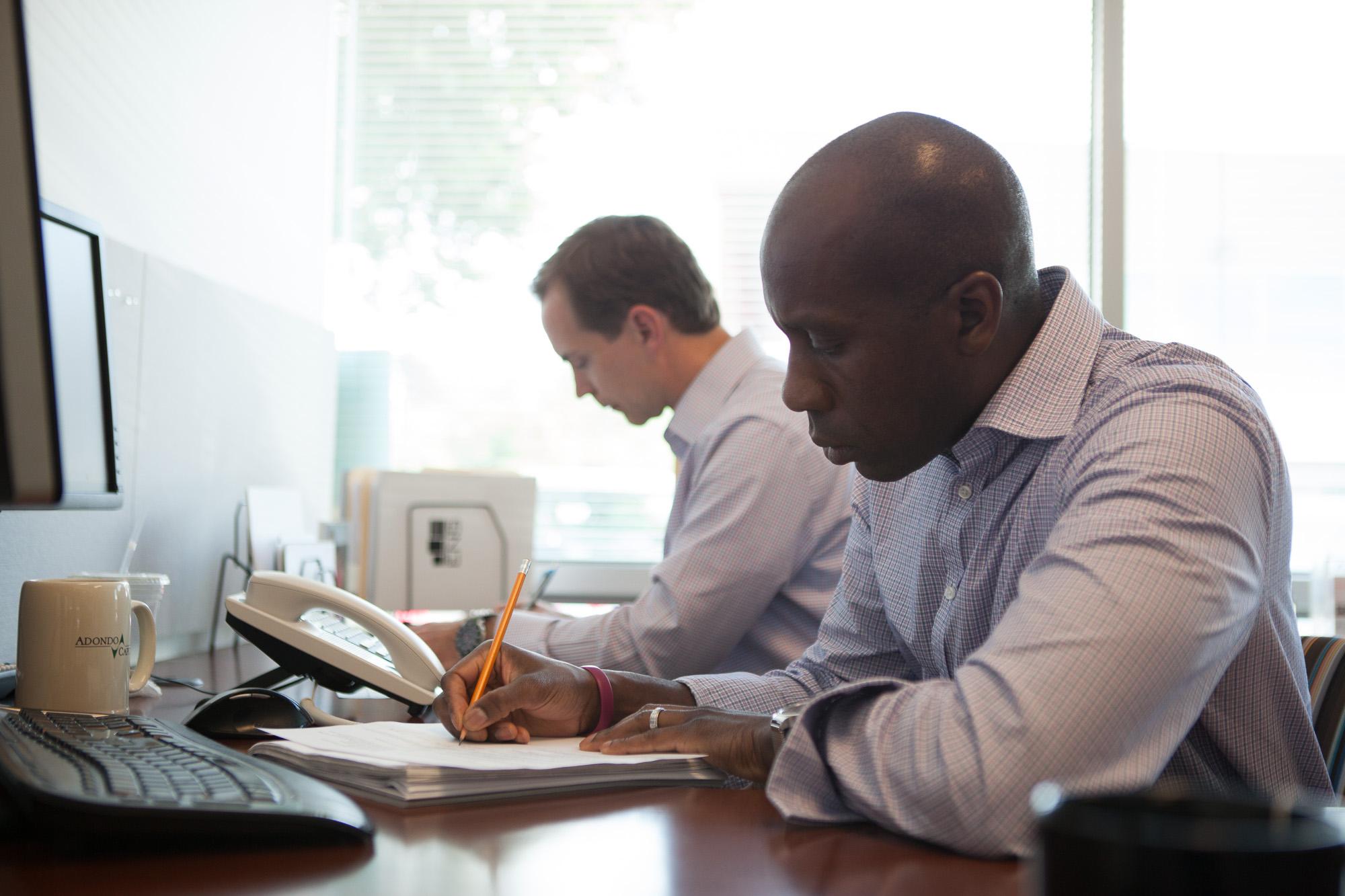 Men Working in the Office