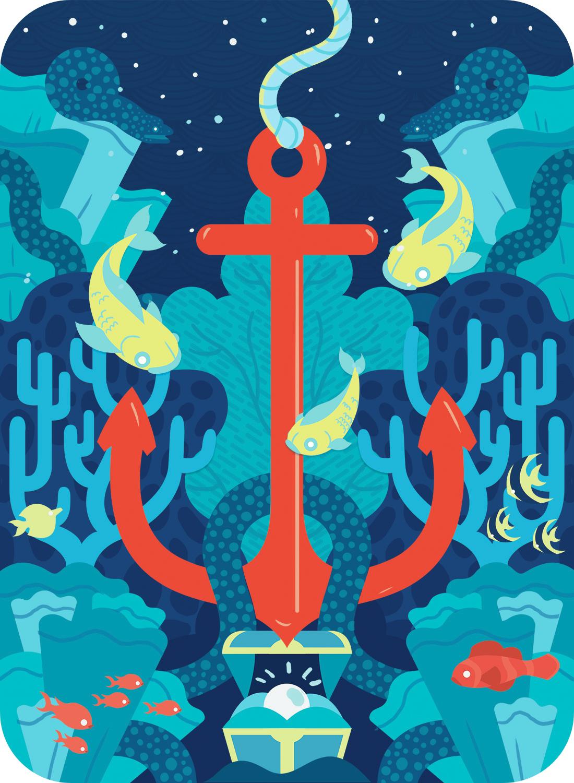 ESALAZAR-FISH N SHIPS-PLAYING CARD BACK RED ANCHOR copy.jpg