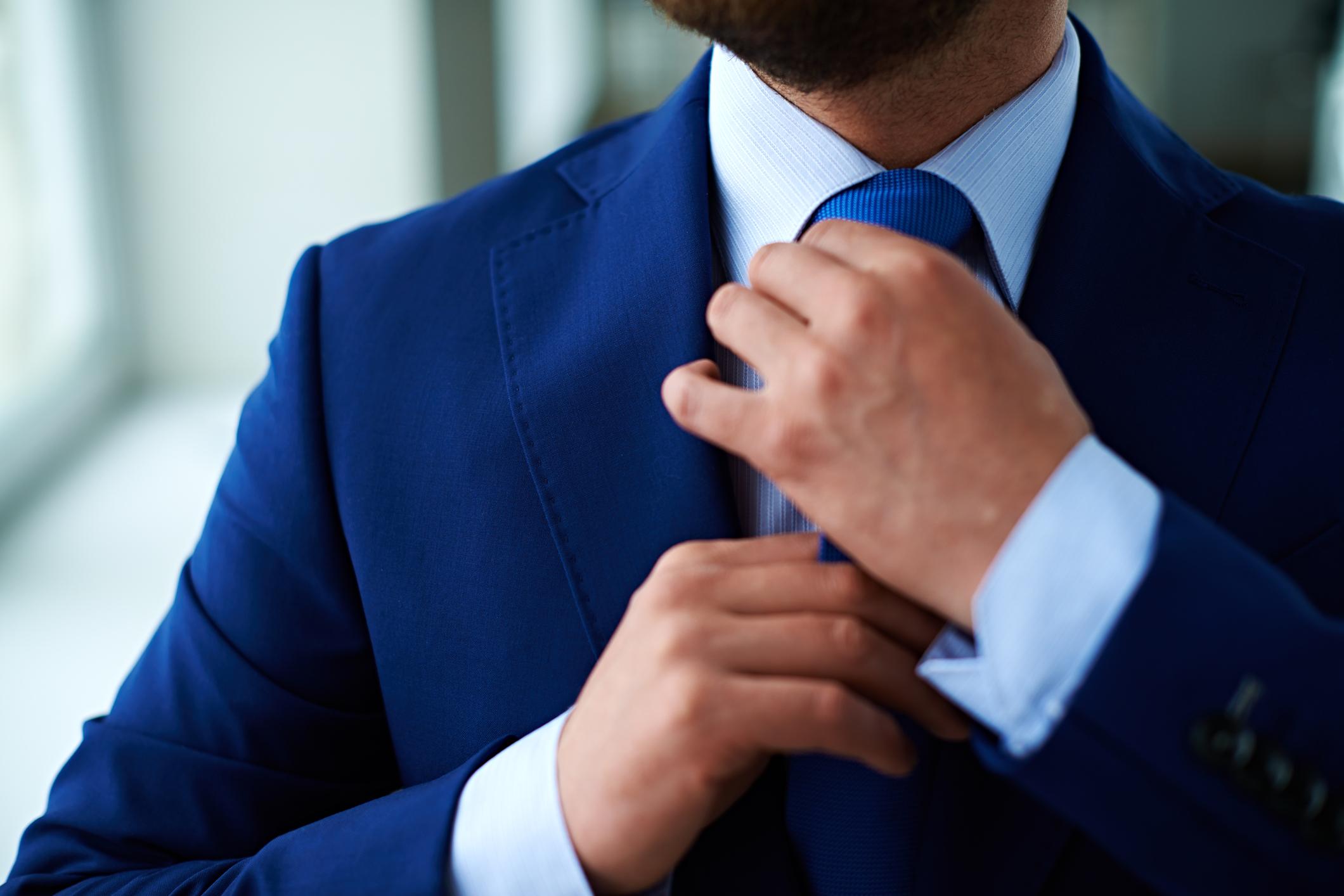 The Blue Tie