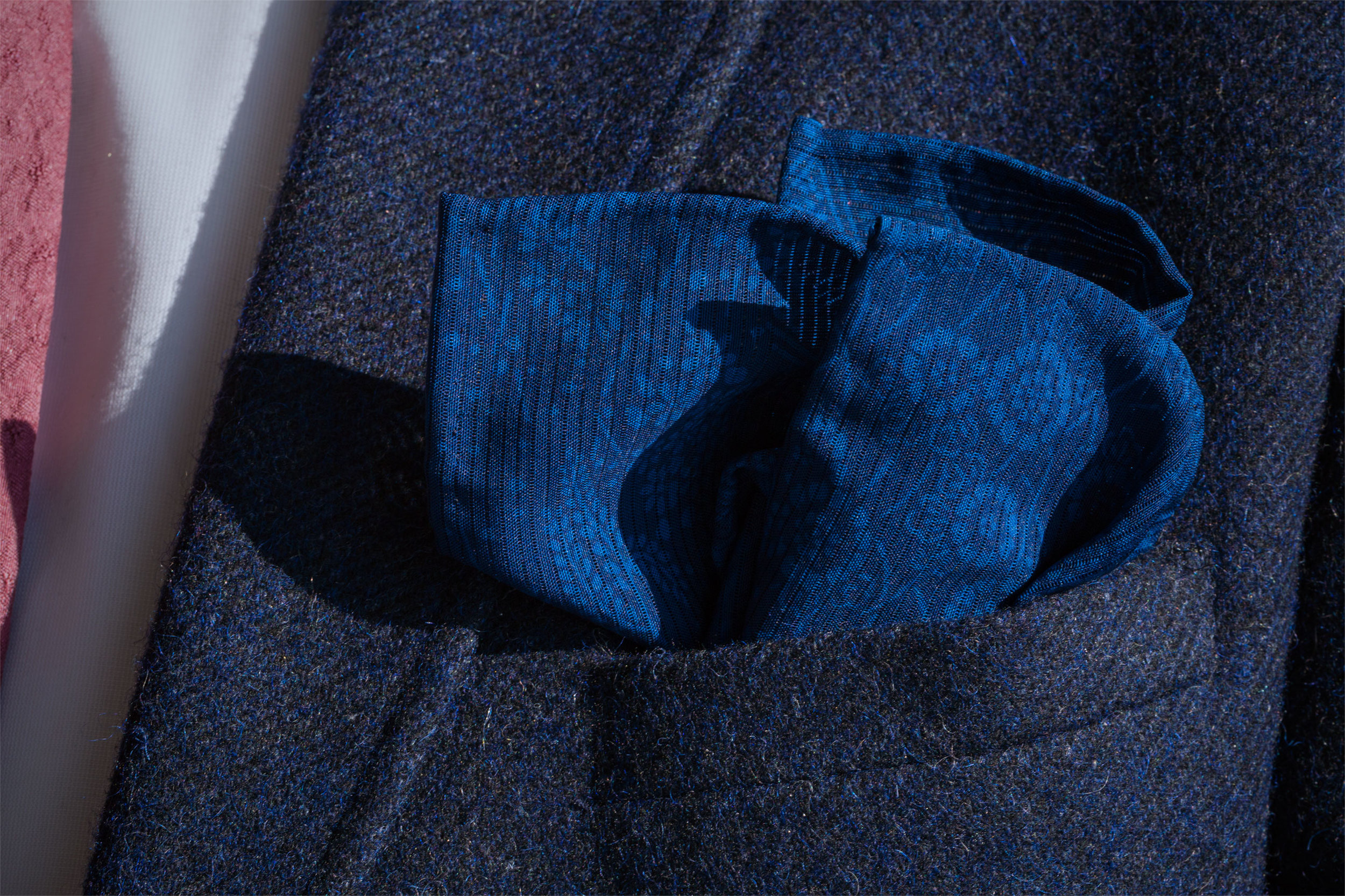 Aizome Karabana Pocket Square