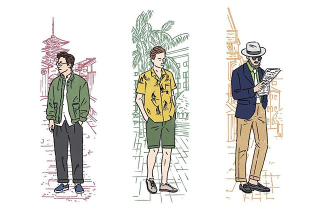 There's more to wear in the Autumn or Fall (as we call it here stateside): more choices, more layers, more fun. What men are wearing in Kyoto, Sydney and Salamanca, Spain (left to right). #autumn #fall #mensstyle #morechoices #layering #dapperlydone #gq #handmade #fabrics #mensfashion #mensaccessory #madeinnewengland #madeinusa🇺🇸 Credit: Monocle