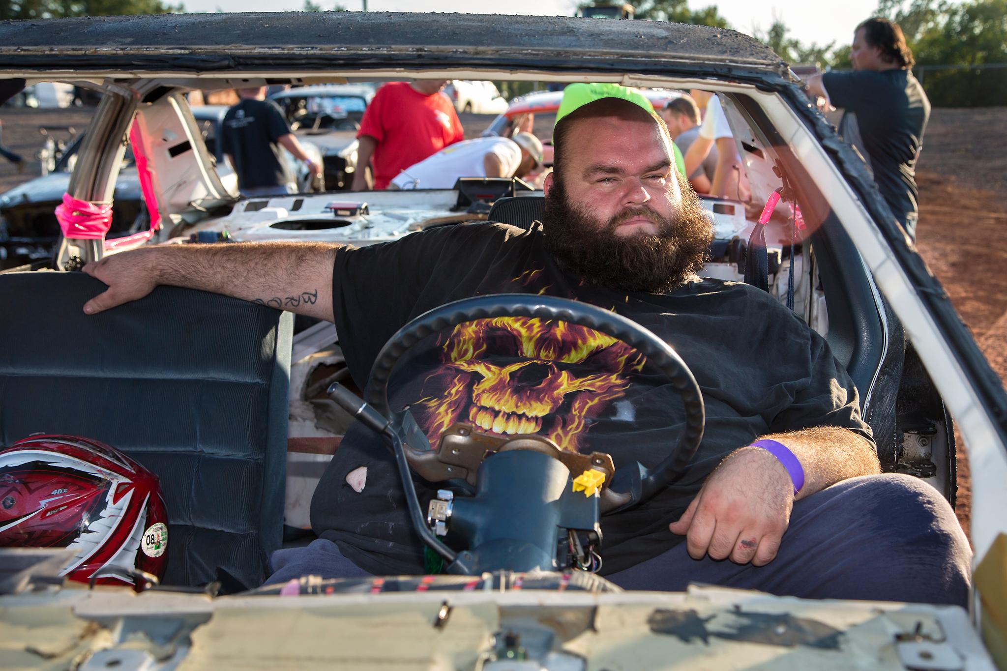 James, Demolition Derby Driver - Manassas, VA, 2015