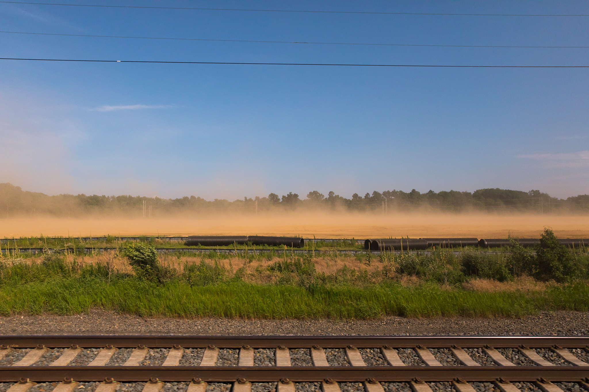 Dust Storm at Construction Site - Perryman, MD - 6.30.2017 - NYP-WAS