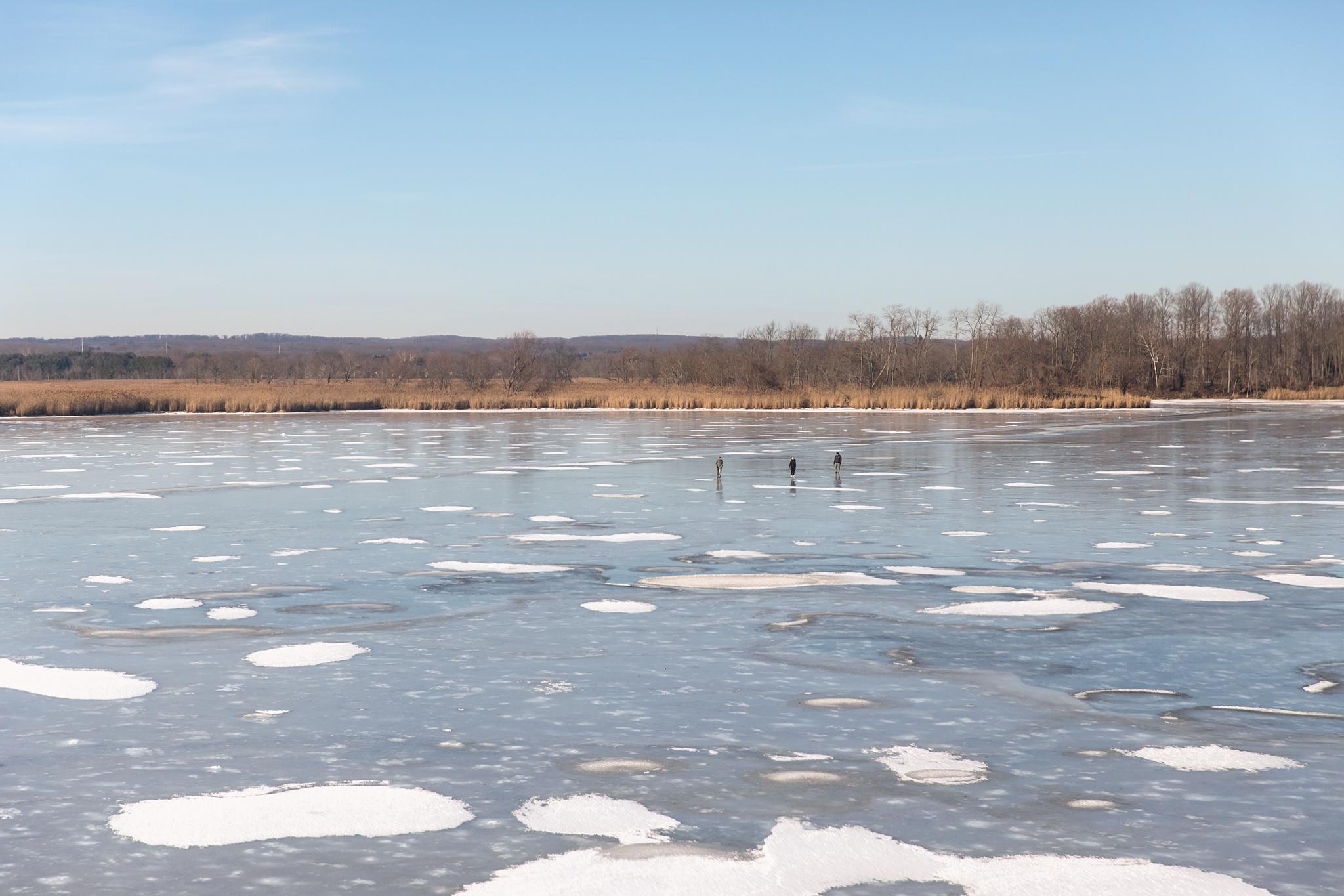 Skating on Thin Ice - Gunpowder River, Maryland - 1.7.2018 - WAS-NYP