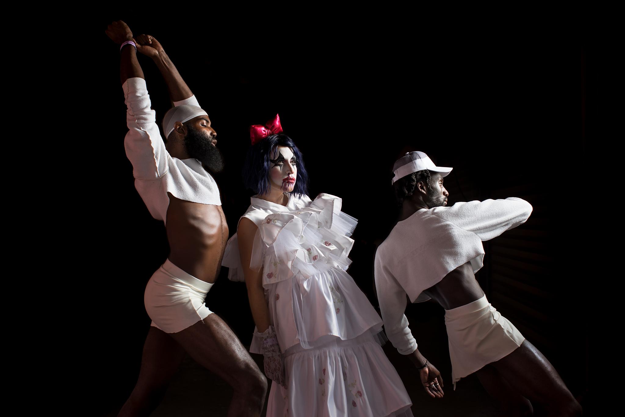Matte Black Soul, Esther Is A Little Girl, and DeVonn - Bushwig, 2017