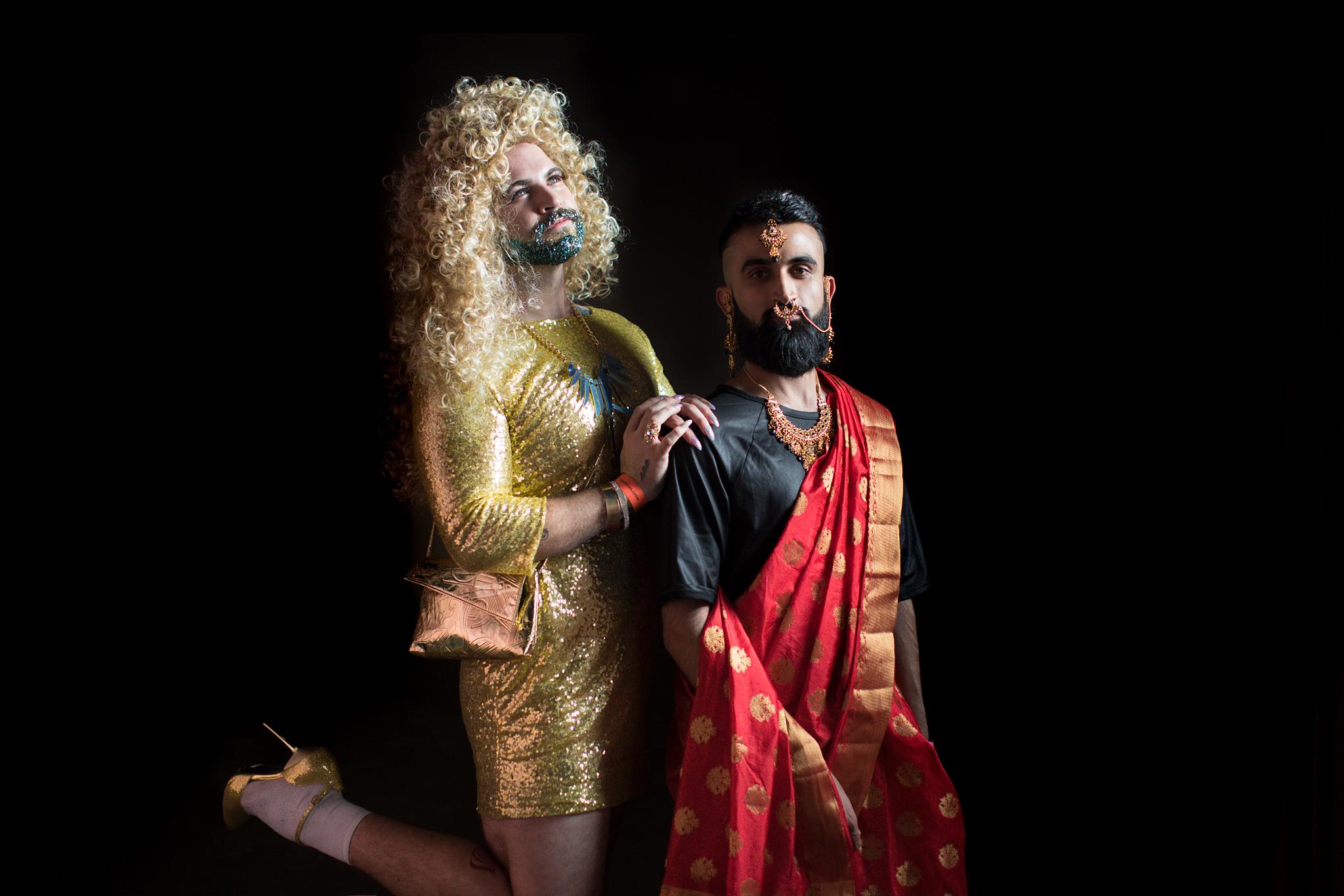John and Priyan - Bushwig, 2017