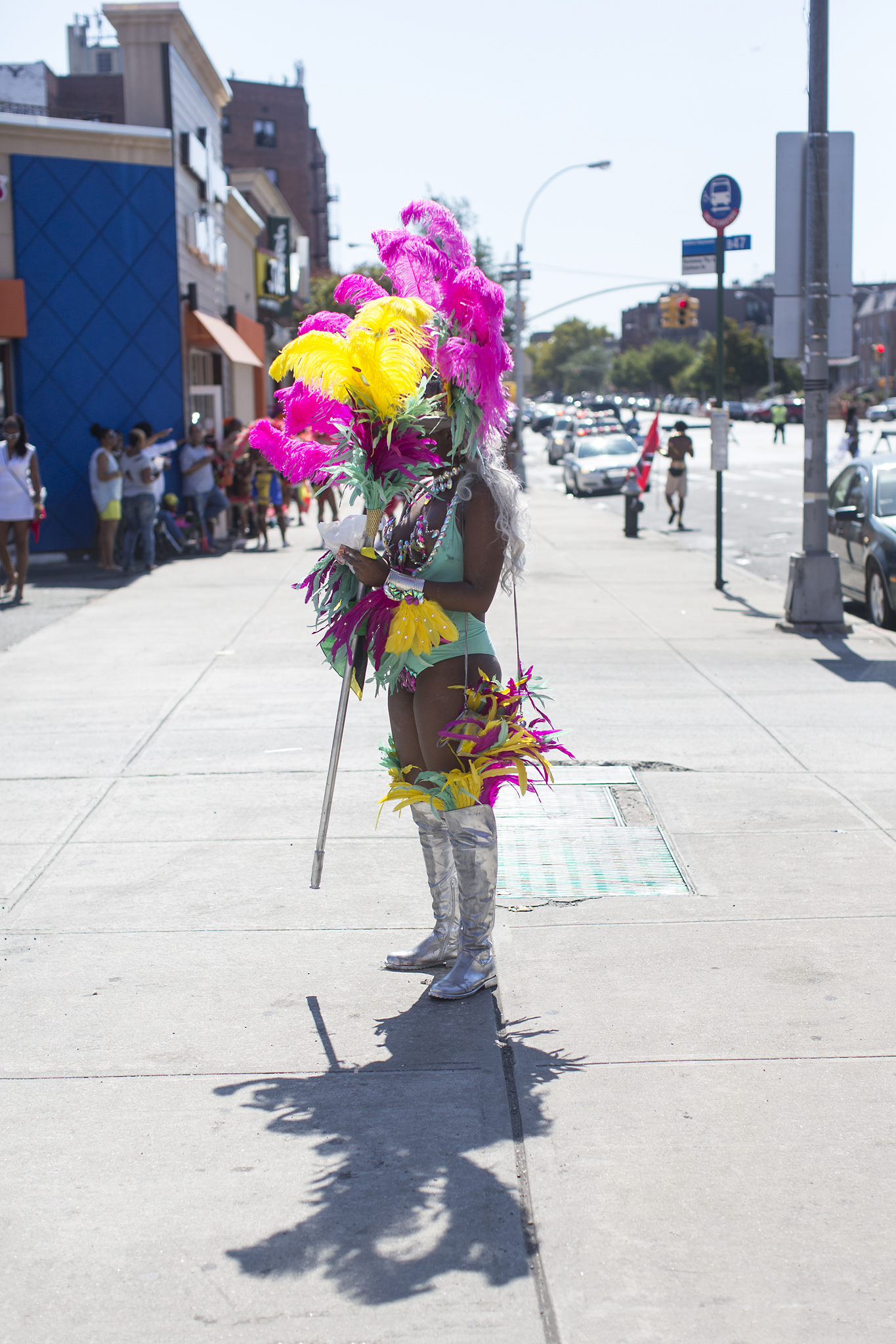 Feathered Queen - West Indian Day, 2015