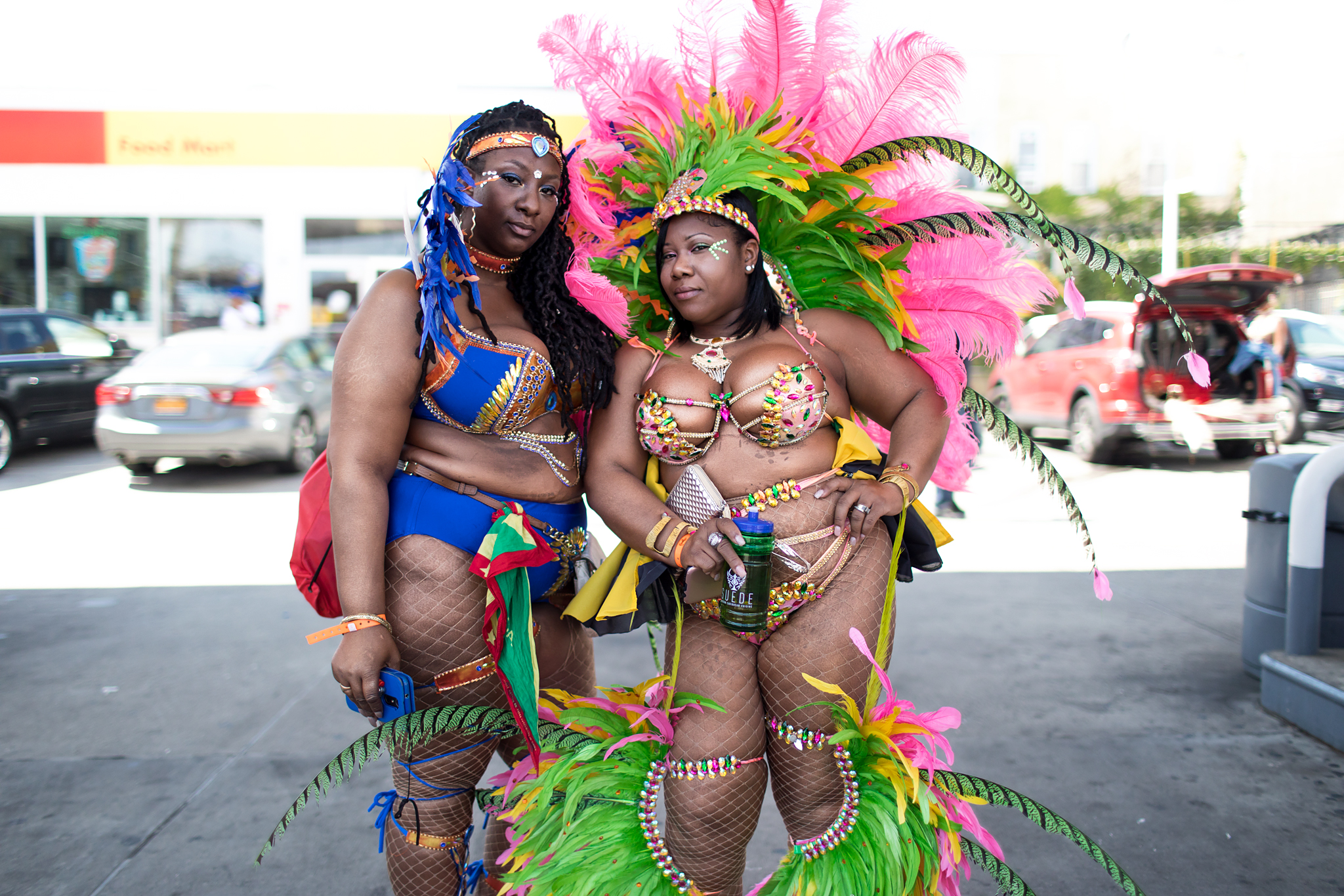 Pretty Mas Queens - West Indian Day, 2017