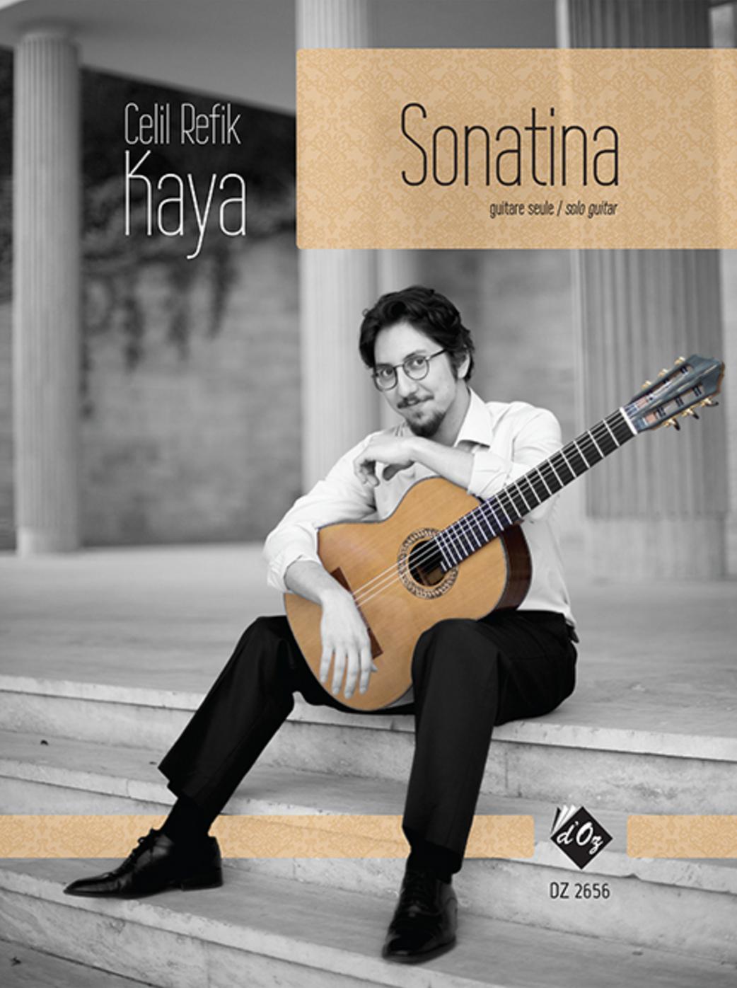 Sonatina for solo guitar Composer : Celil Refik Kaya To Adam Holzman Published: Les Productions d'OZ