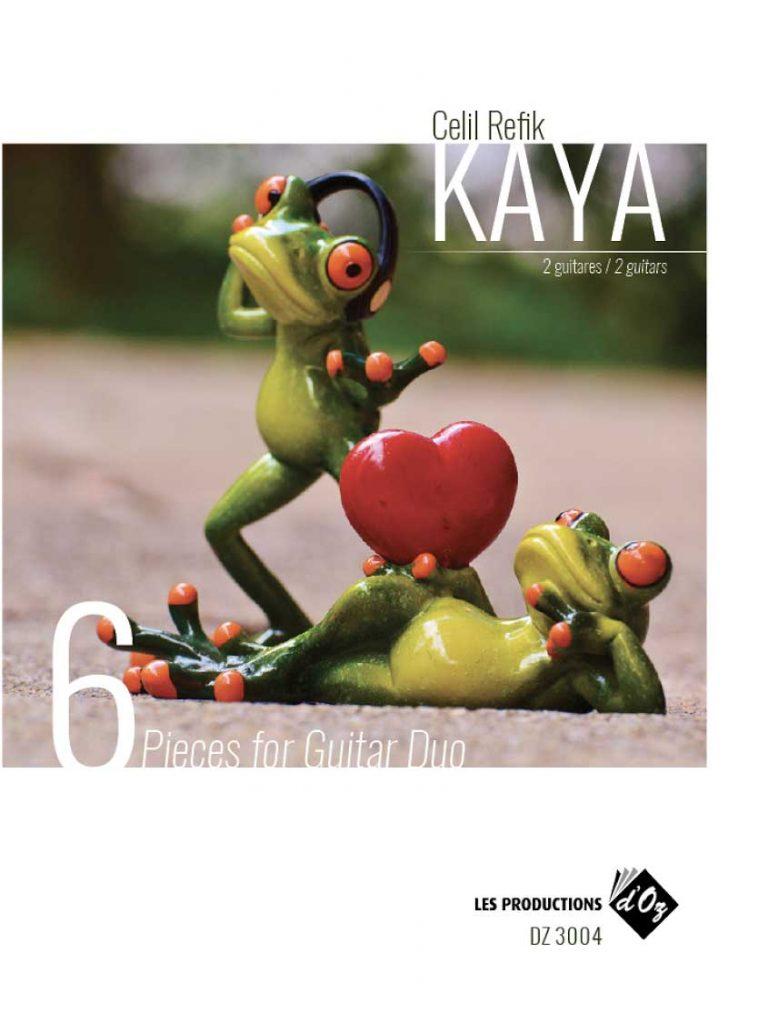 6 Pieces for Guitar Duo Composer: Celil Refik Kaya Publisher: Les Productions d'OZ