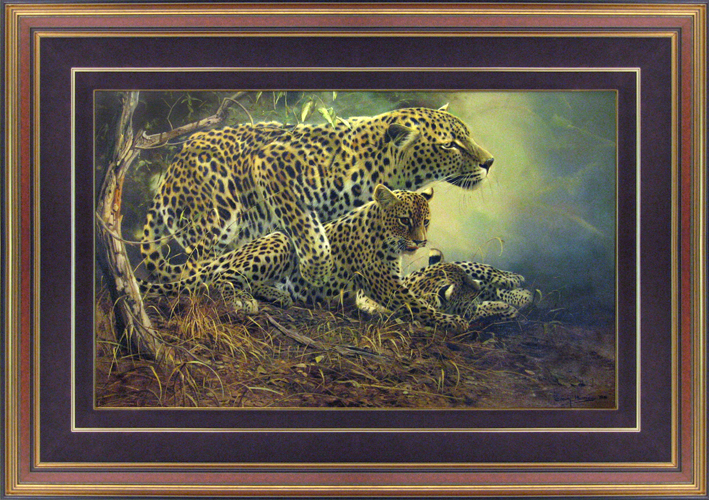 CRAIG BONE<BR/>Leopard Family