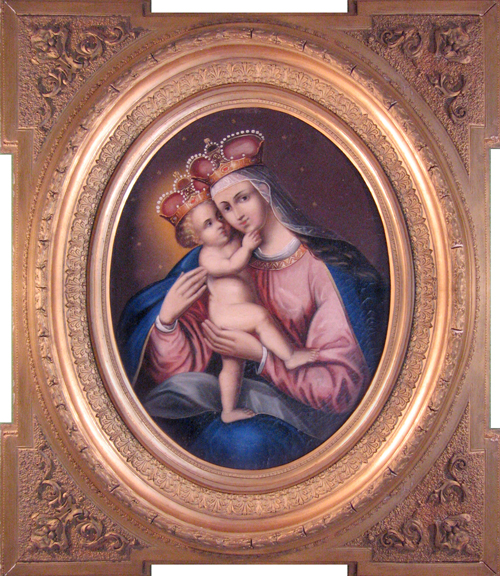 UNKNOWN<BR/>Madonna and Child