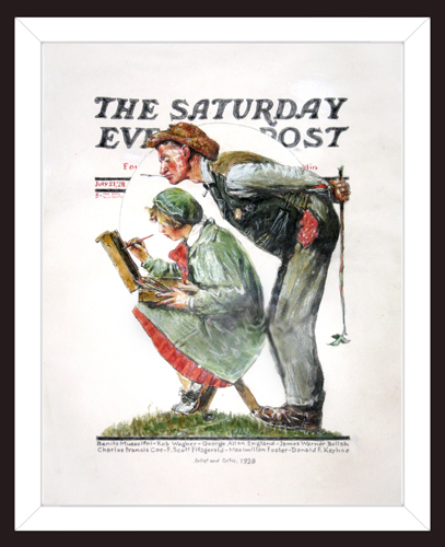 ATTRIBUTED TO NORMAN ROCKWELL<BR/>Study #1