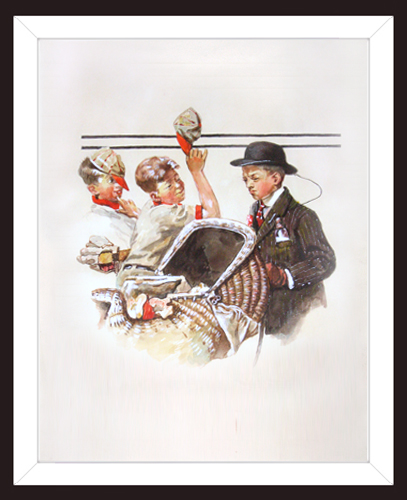 ATTRIBUTED TO NORMAN ROCKWELL<BR/>Study #3