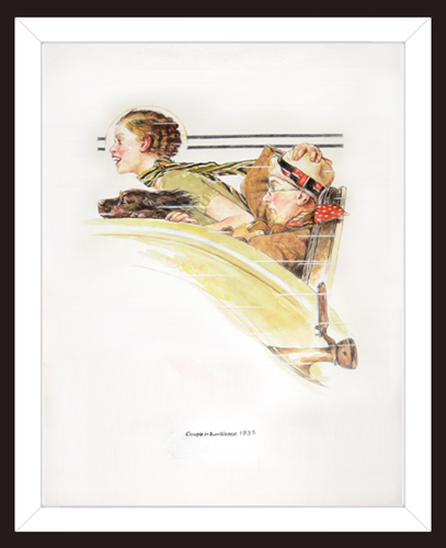 ATTRIBUTED TO NORMAN ROCKWELL<BR/>Study #4