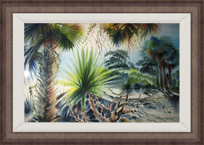MAURICE BERNSON<BR/>Sarasota Landscape
