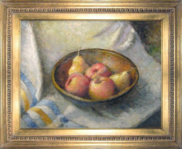 ROGER W. DENNIS<BR/>Still Life, Pears