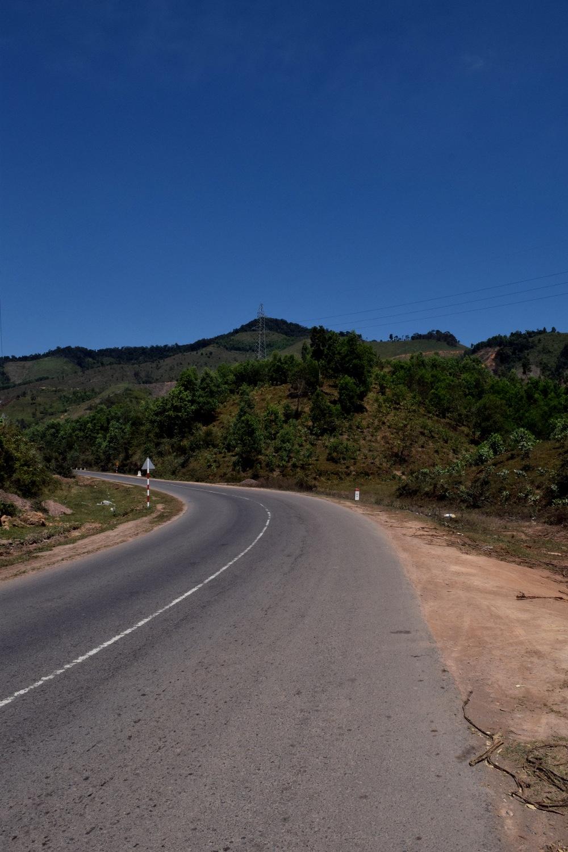 Mountain pass somewhere between Nha Trang and Hoi An