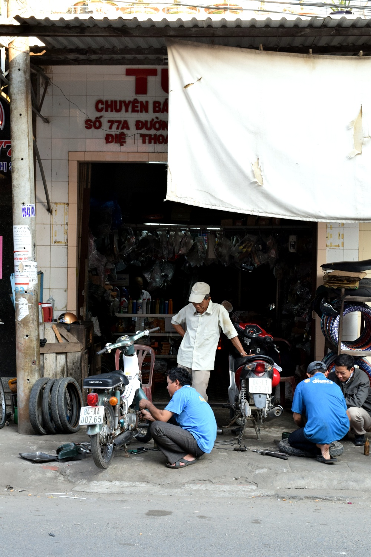 Mechanic in the Mekong