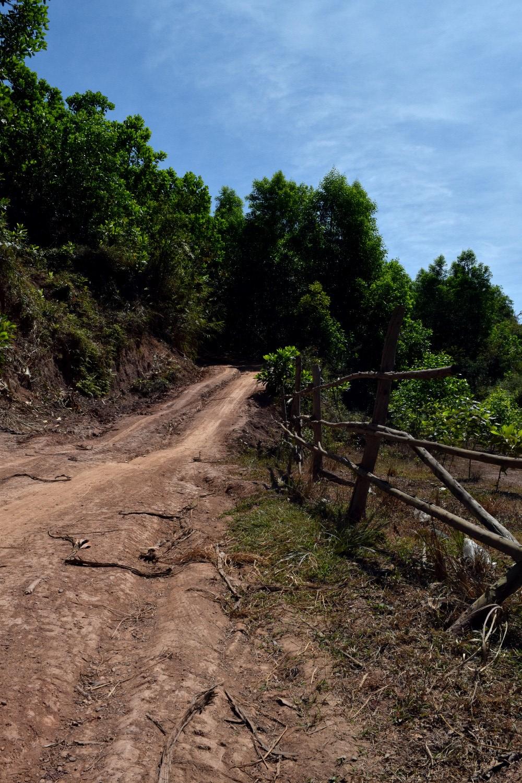 Dirt road somewhere between Nha Trang and Hoi An