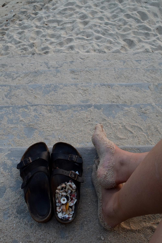 Enjoying the beach somewhere between Mui Ne and Nha Trang