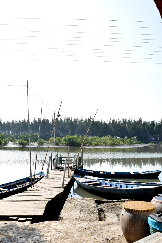 Fishing village somewhere between Saigon and Mui Ne