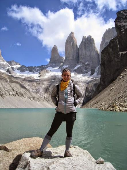 At Torres del Paine in Patagonia.