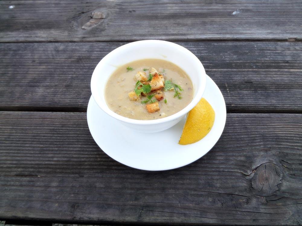 vegan lentil soup recipe. quick easy recipe.