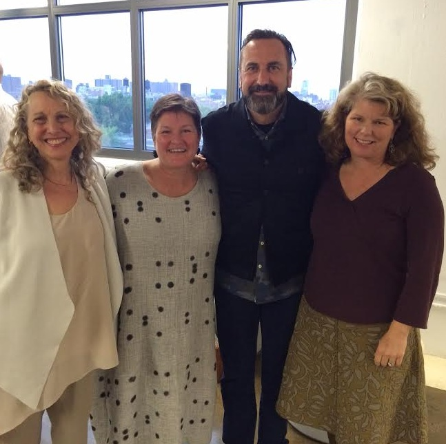 Left to right: Candice Reffe (Eileen Fisher), Deb Johnson (BFDA), Ed Thomas (Nike), Jill Dumain (Patagonia)