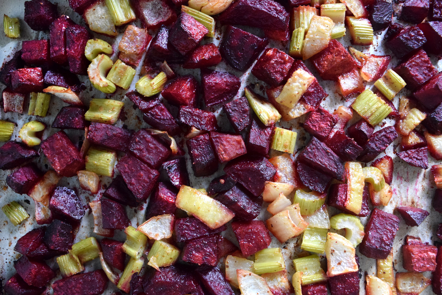 Roasted vegetables make a great dinner, salad topper, or base for a  delicious soup .
