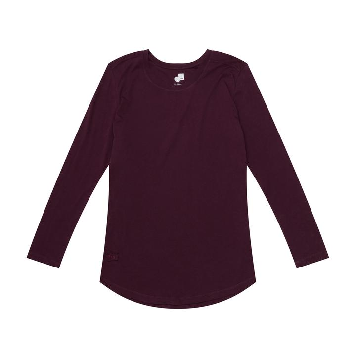Round + Square Relaxed Long Sleeve - $33