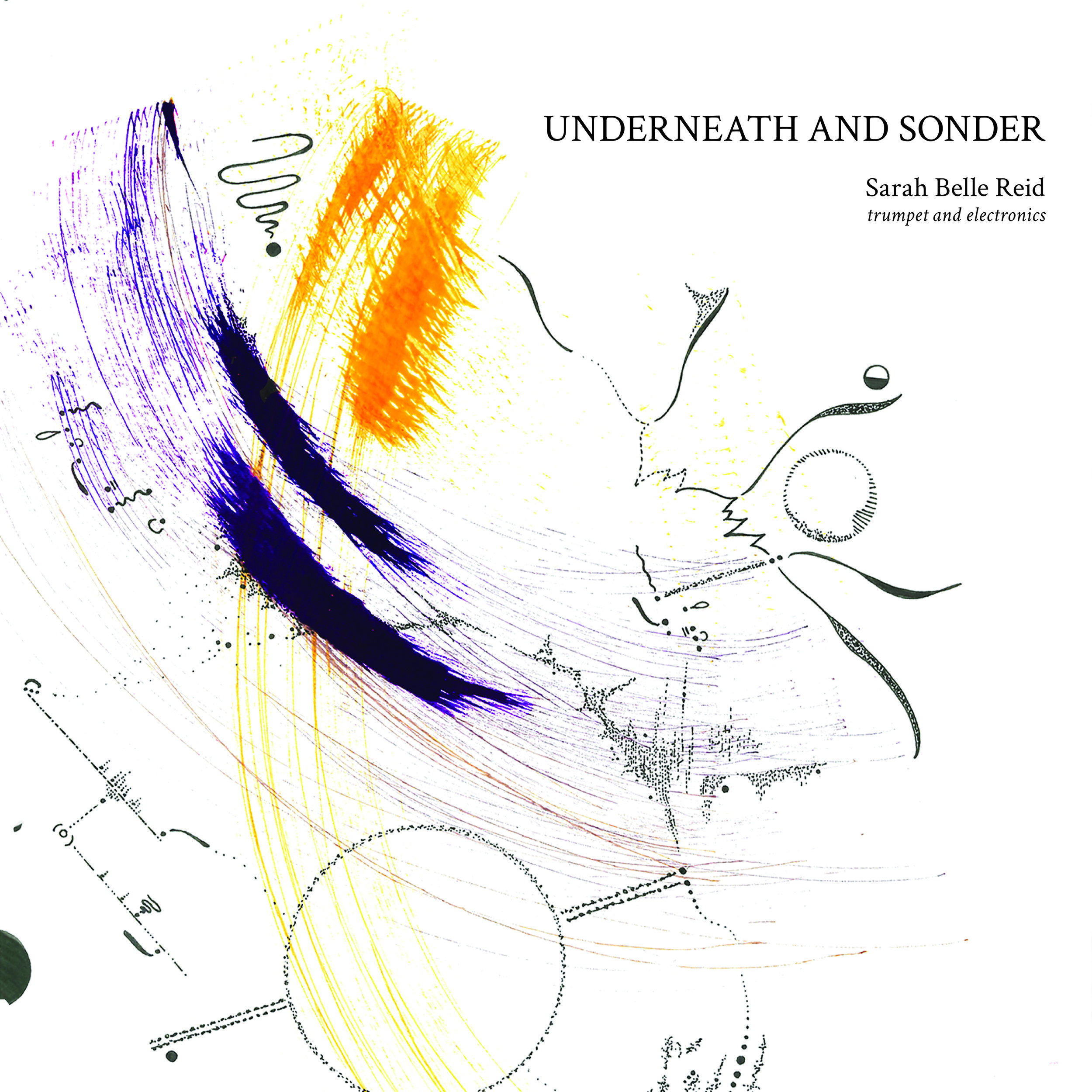 Album artwork for Underneath and Sonder (2019, Sarah Belle Reid)