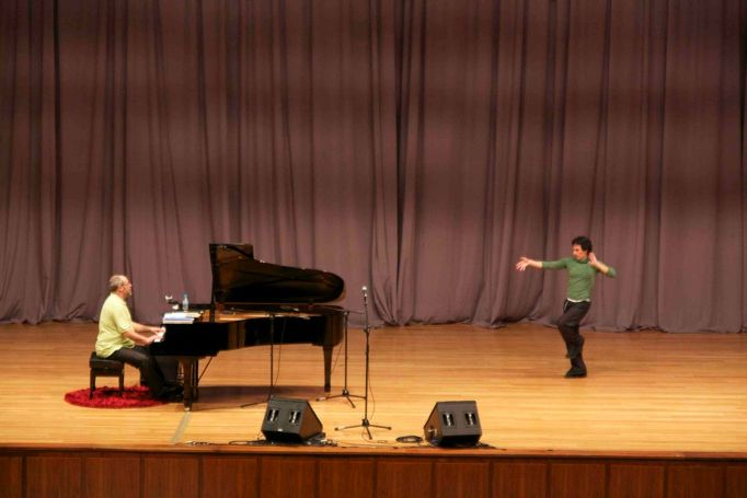 """Rehearsals for premiere of """"The Art of Improvisation"""""""