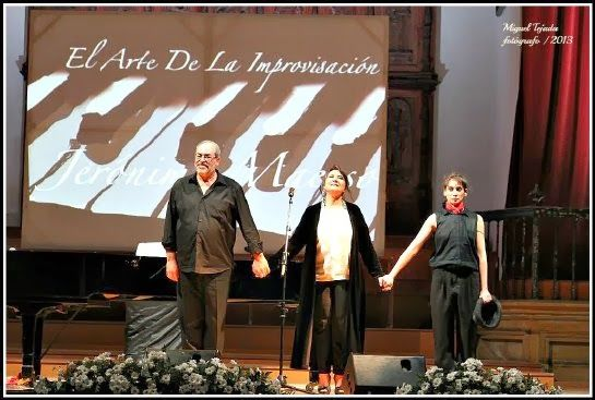 Performing at the 25th Anniversary of the Festival of Music and Dance at Úbeda.
