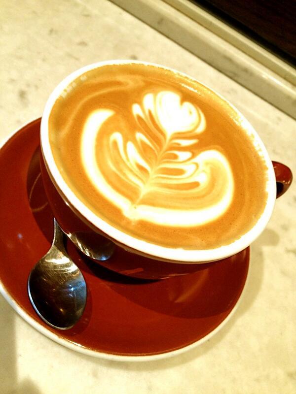 Latte at Stumptown